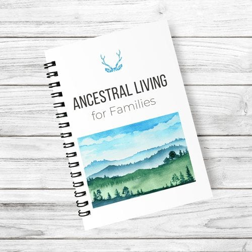 Ancestral Living for Families Cover